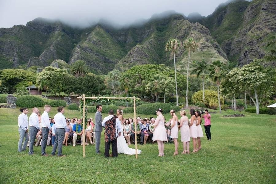 Lush Hawaiian Ranch Wedding