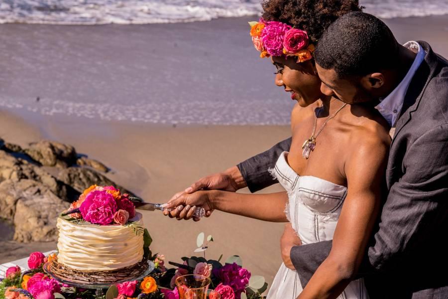 Beach Boho Wedding
