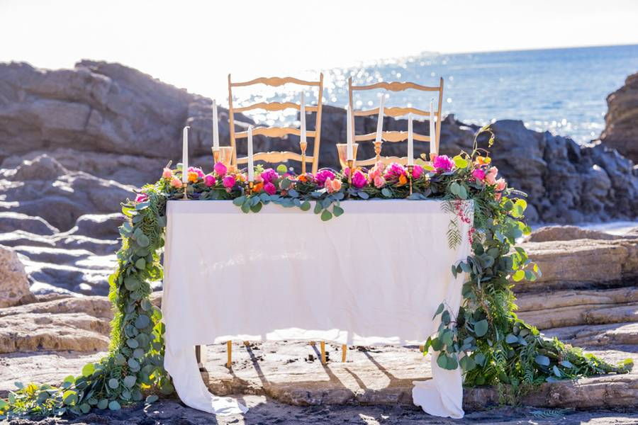 Beach Boho Wedding