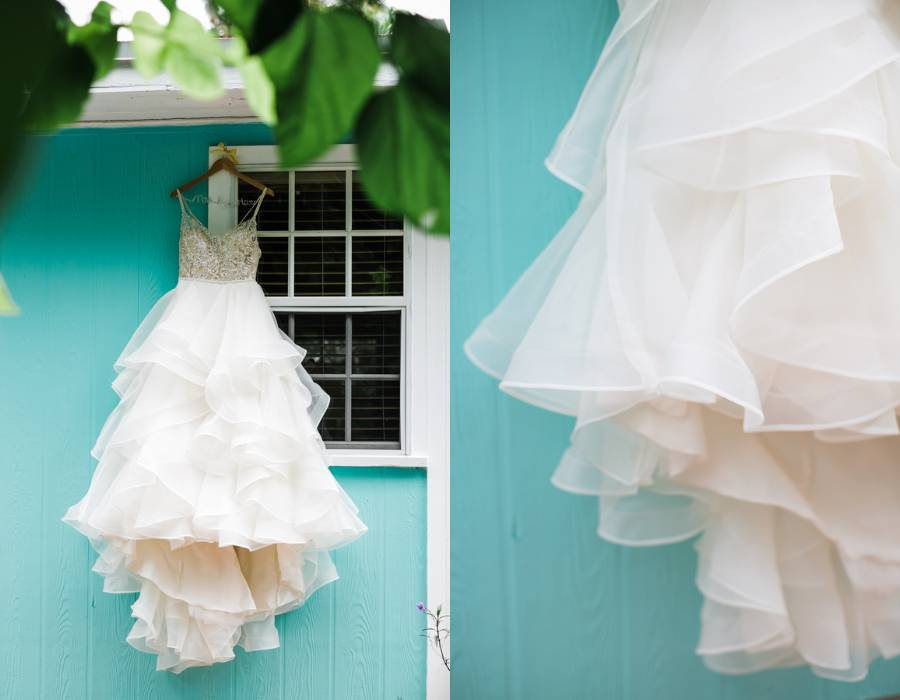 Tropical Beach Cottage Wedding