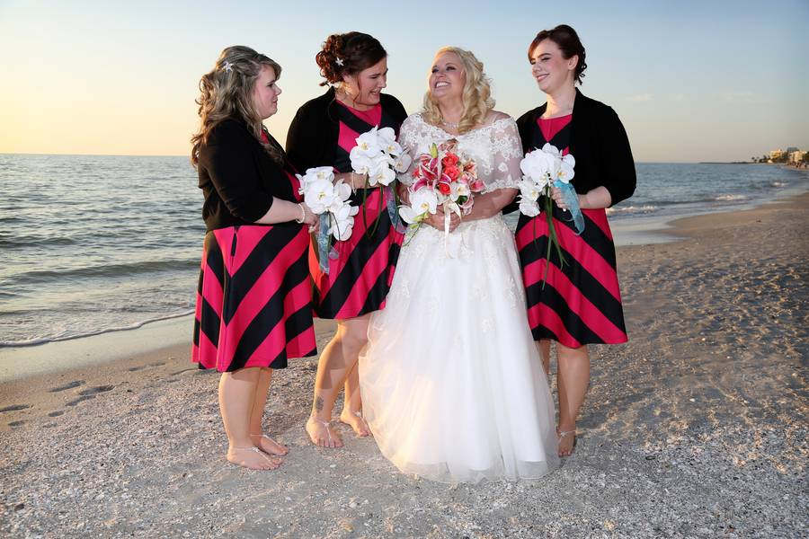 Intimate Beach Wedding