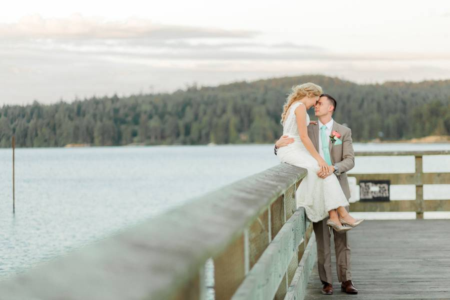 Beach Front Wedding on Vancouver Island