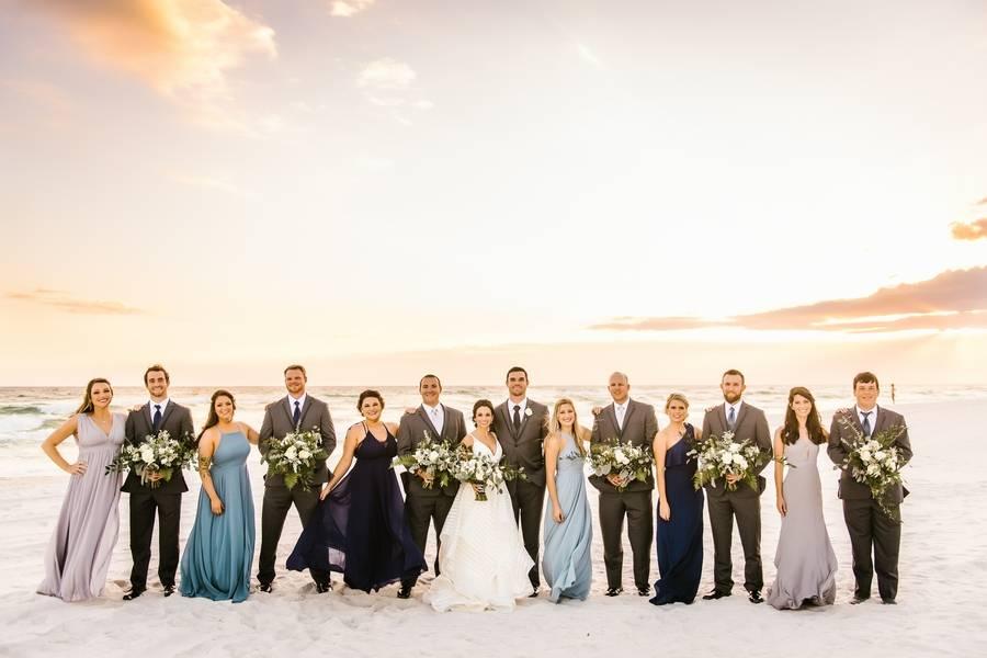 Modern Coastal Wedding