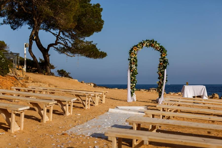Boho Destination Wedding in Ibiza