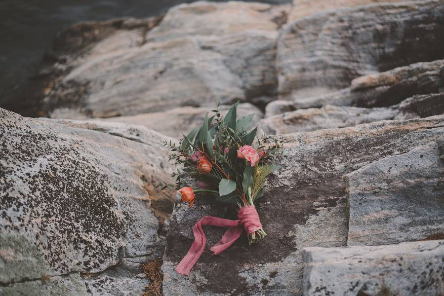 Moody Chic Styled Shoot in Norway