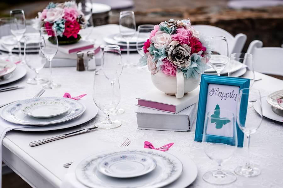 Alice in Wonderland Themed Destination Wedding in Big Sur