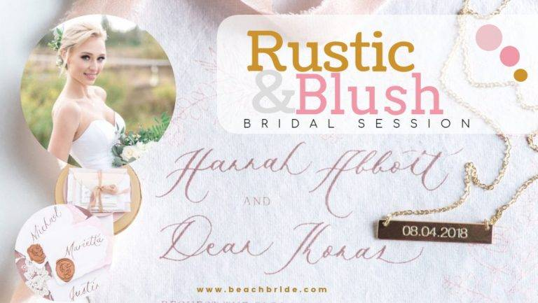Rustic & Blush Bridal Session- High Point Equestrian