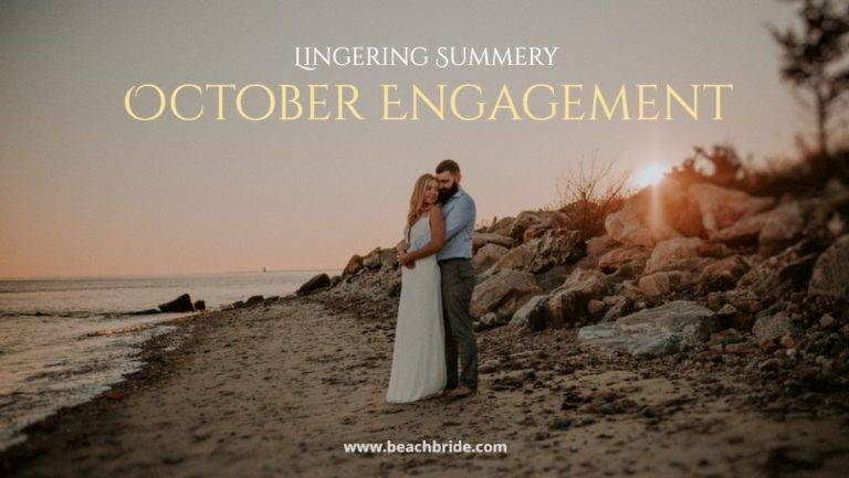 Lingering Summery October Engagement