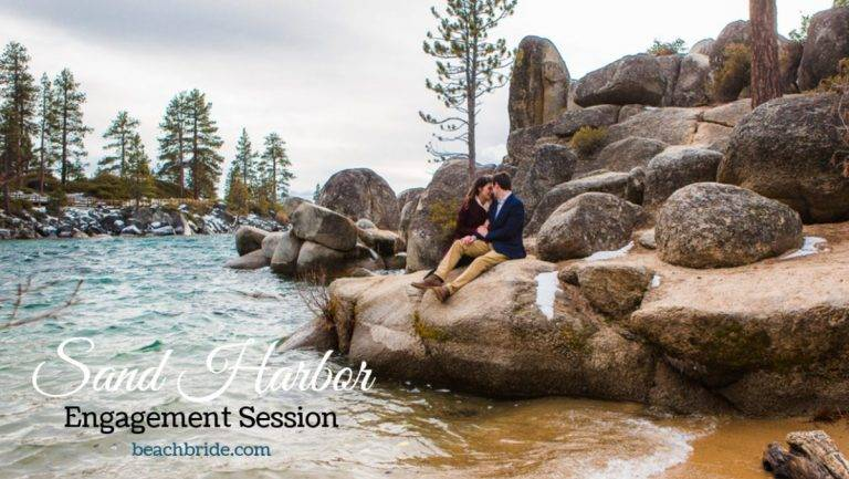 Sand Harbor Engagement Session