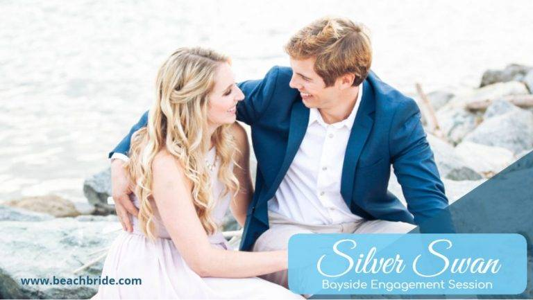 Silver Swan Bayside Engagement Session