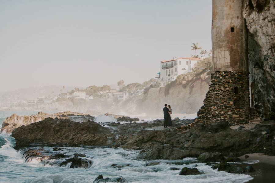 Epic Surprise Daytime Beach Proposal