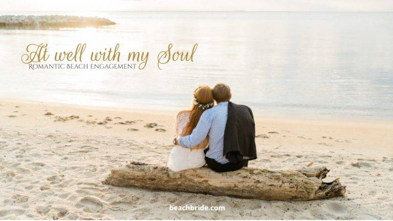 At Well With My Soul – Romantic Beach Engagement