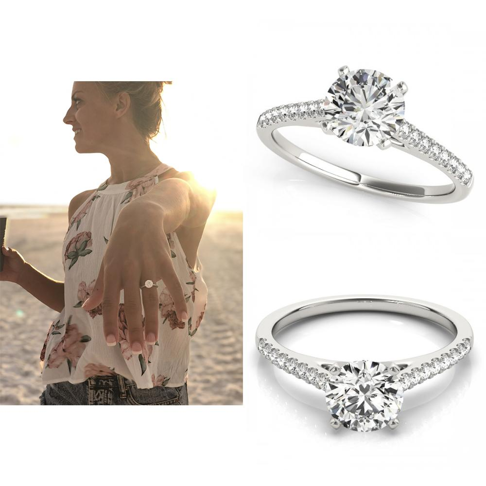 A Beach Proposal + The Perfect Engagement Ring