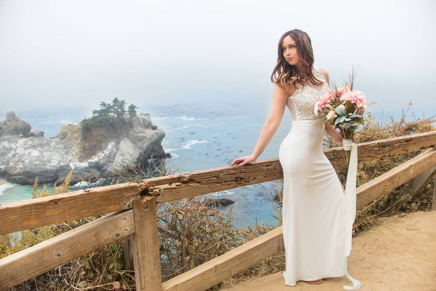 Big Sur Bridal Styled Shoot