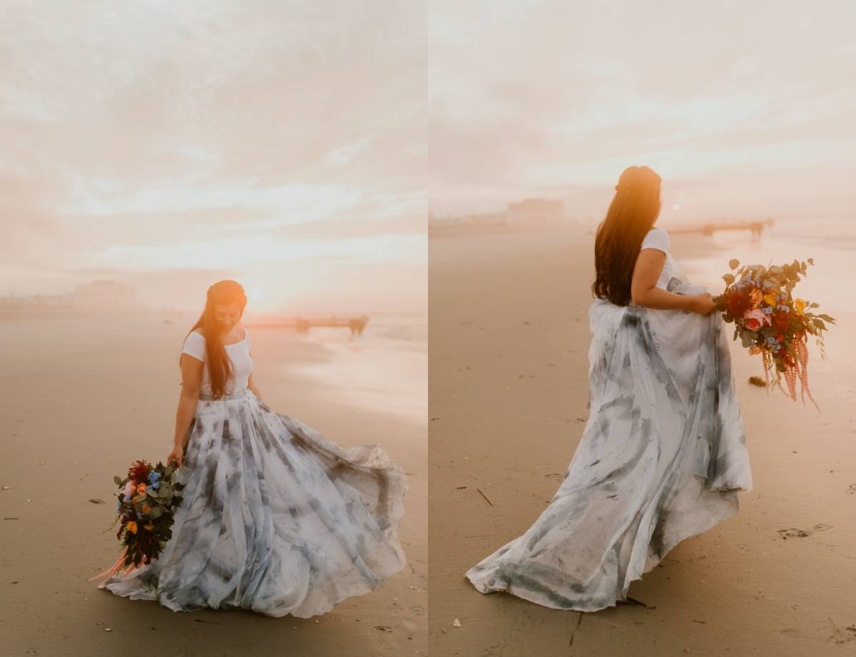 Beach Bride in Ocean City
