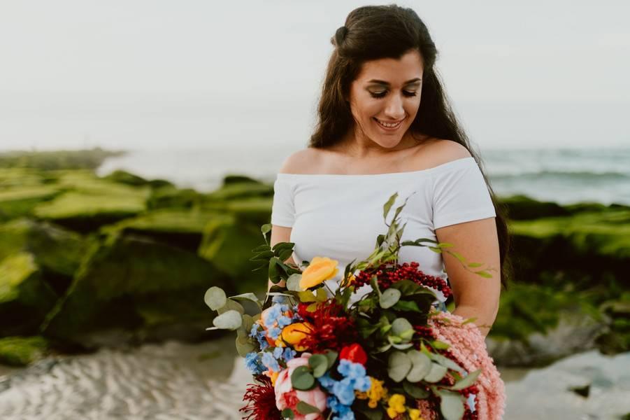 Beach Bride in Ocean City