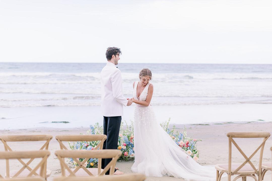 Bright Seaside Styled Wedding