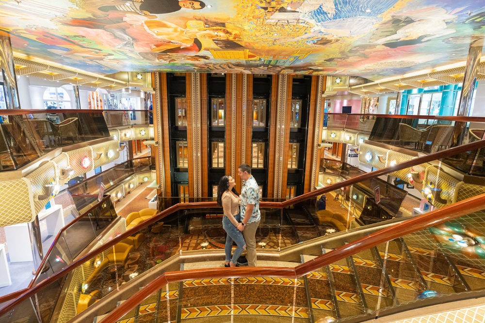 Onboard For Love: A Couples Cruise Ship Photoshoot