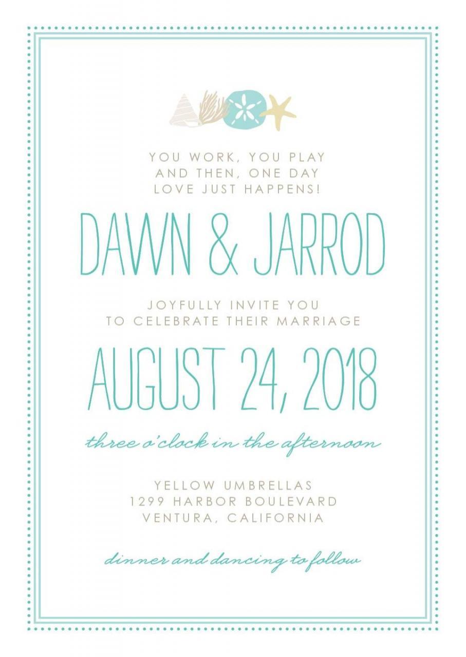 Create the Perfect Wedding Invitation Using  Starfish Themes & More