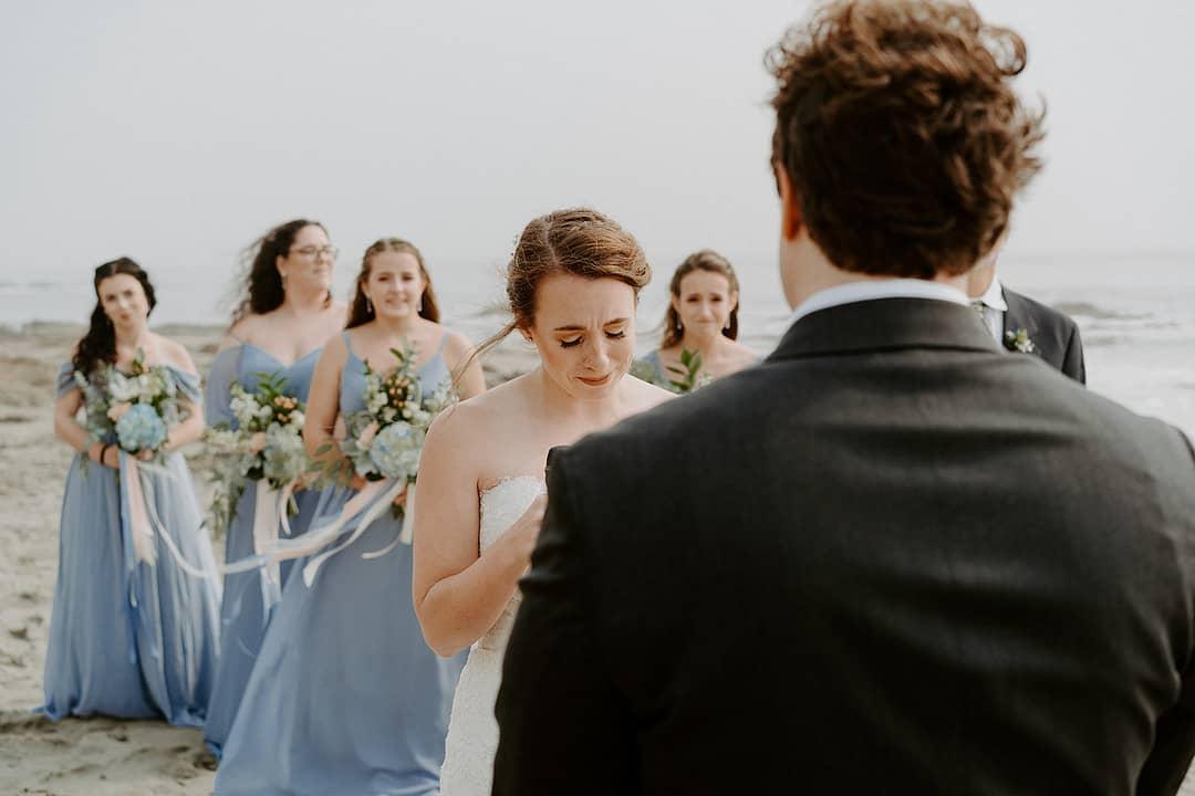 Rustic Minimalist Beach Wedding