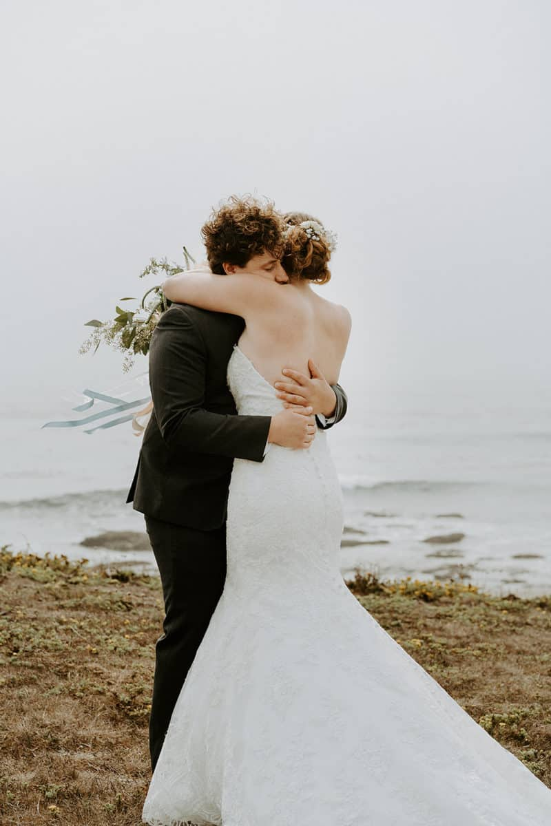 Rustic Minimalist Beach Wedding