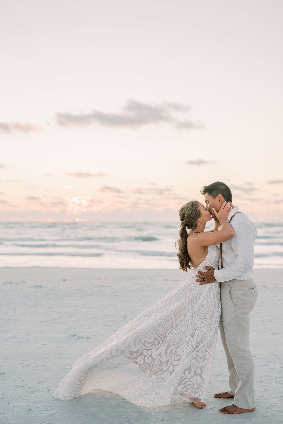 Fresh and Chic Beach Wedding in Florida