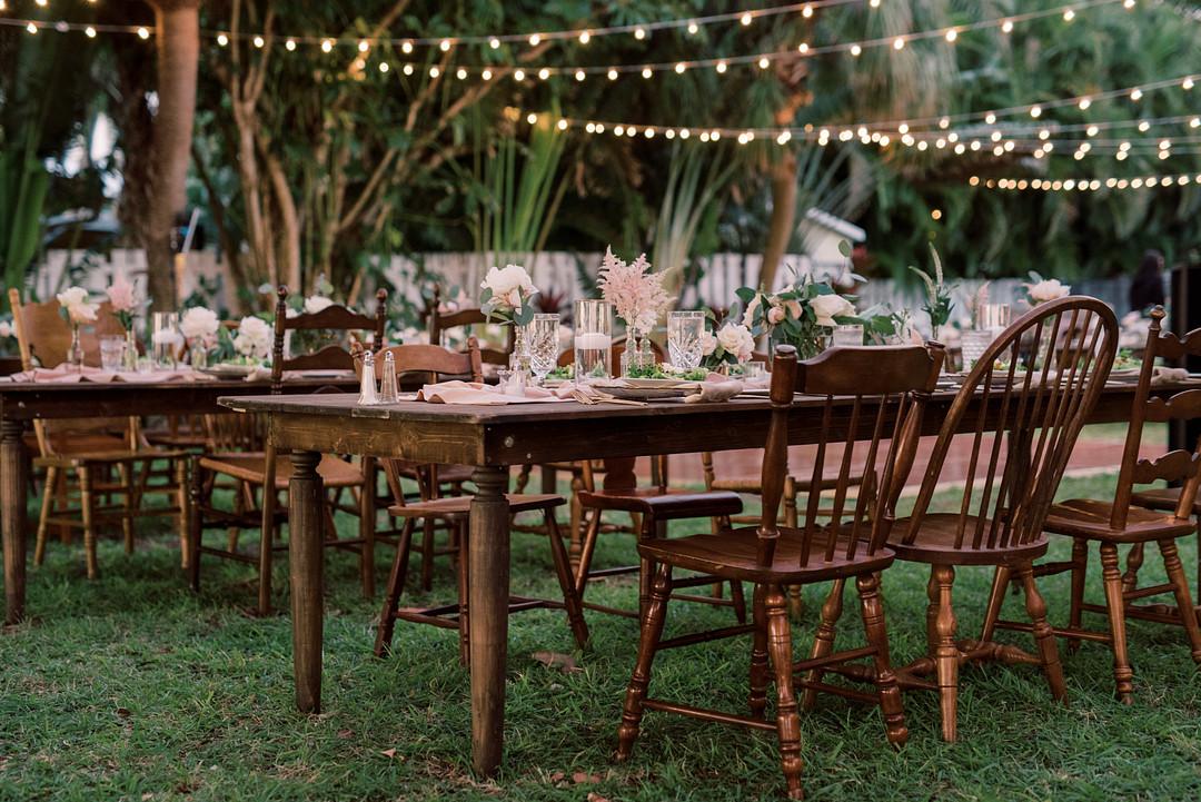 Fresh and Chic Beach Wedding in Florida