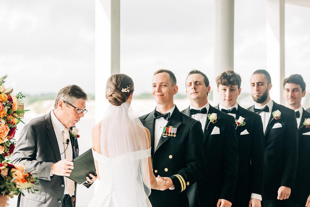 Military Wedding at Lesner Inn Catering Club