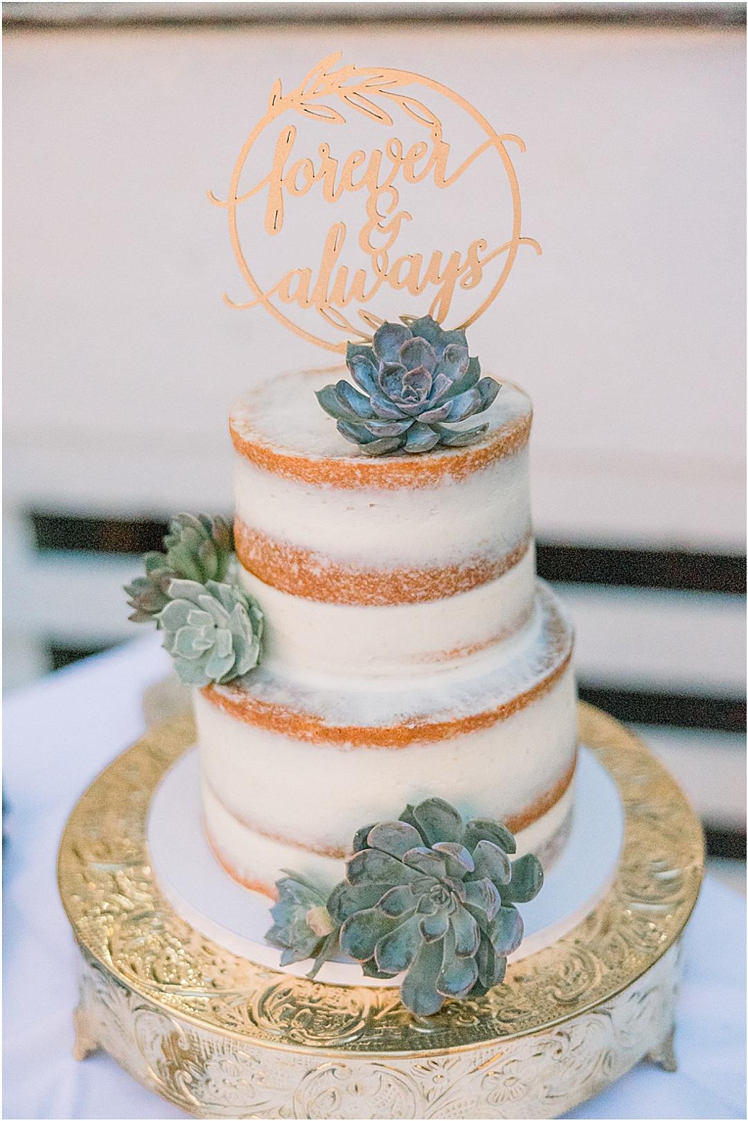 Succulent Themed Oceanside Wedding