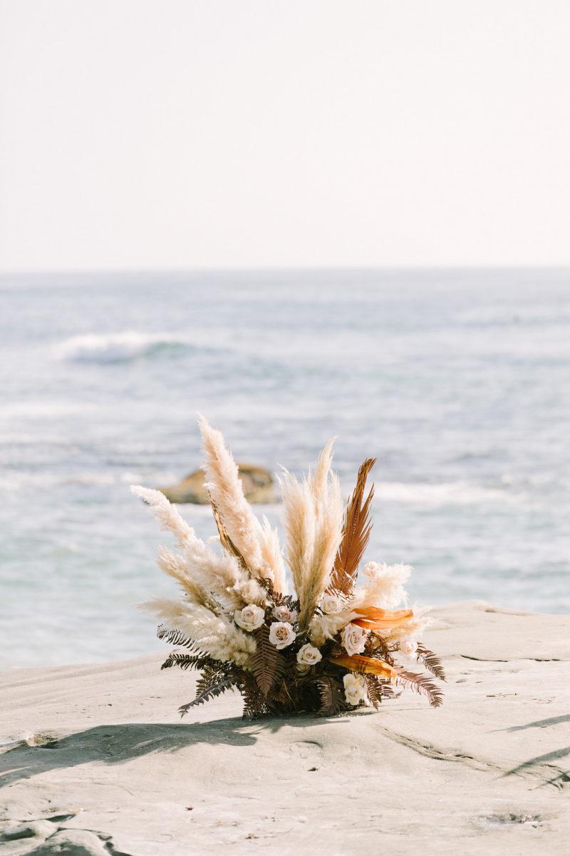 San Diego Boho Beach Elopement