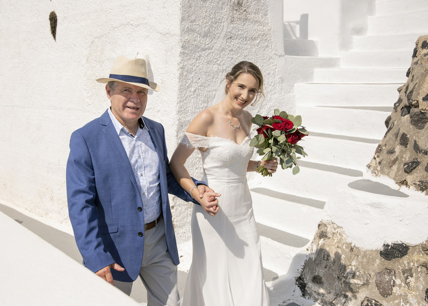 Soulful Santorini Wedding