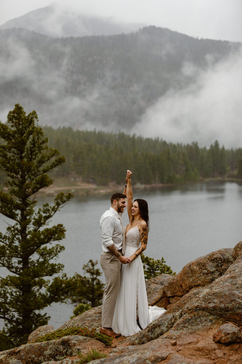 Backpacking Style Elopement